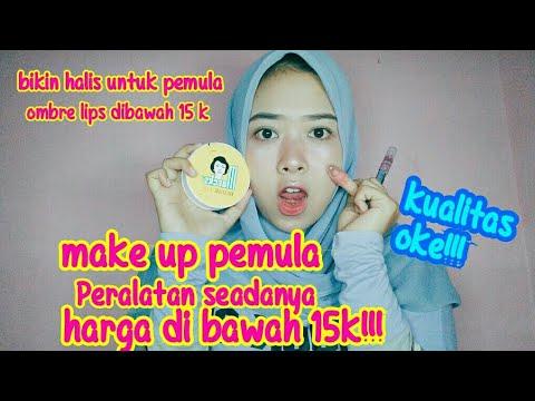 make-up-simple-utk-pemula,tnp-fondation&concealer-bikin-halis-pake-cotton-buds,harga-dibawah-15k!!!