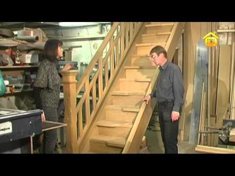 видео: Деревянные лестницы // forumhouse