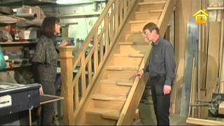 Деревянные лестницы // FORUMHOUSE(Часто лестница, установленная в деревянном доме, спустя время меняет свою геометрию и начинает смещаться..., 2012-03-26T10:28:18.000Z)