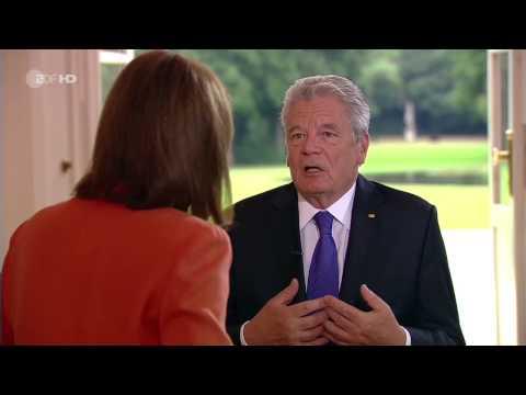 ZDF-Sommerinterview mit Joachim Gauck - Bundespräsident für Verbleib Griechenlands in Eurozone - ZDF