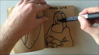 How to Draw a Mona Lisa