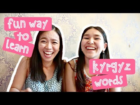 Fun Way To Learn Kyrgyz Words (Ep12) | Pinay In Kyrgyzstan