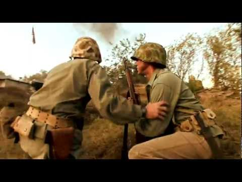 WWII Battlefield Reenactment Short Film | The Pacific War Museum