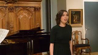 Anne Elizabeth Sorbara sings 'Torrente cresciuto' G.F. Händel