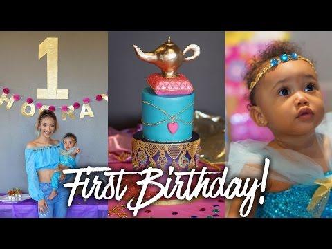 Ziya's First Birthday | Genie Party!