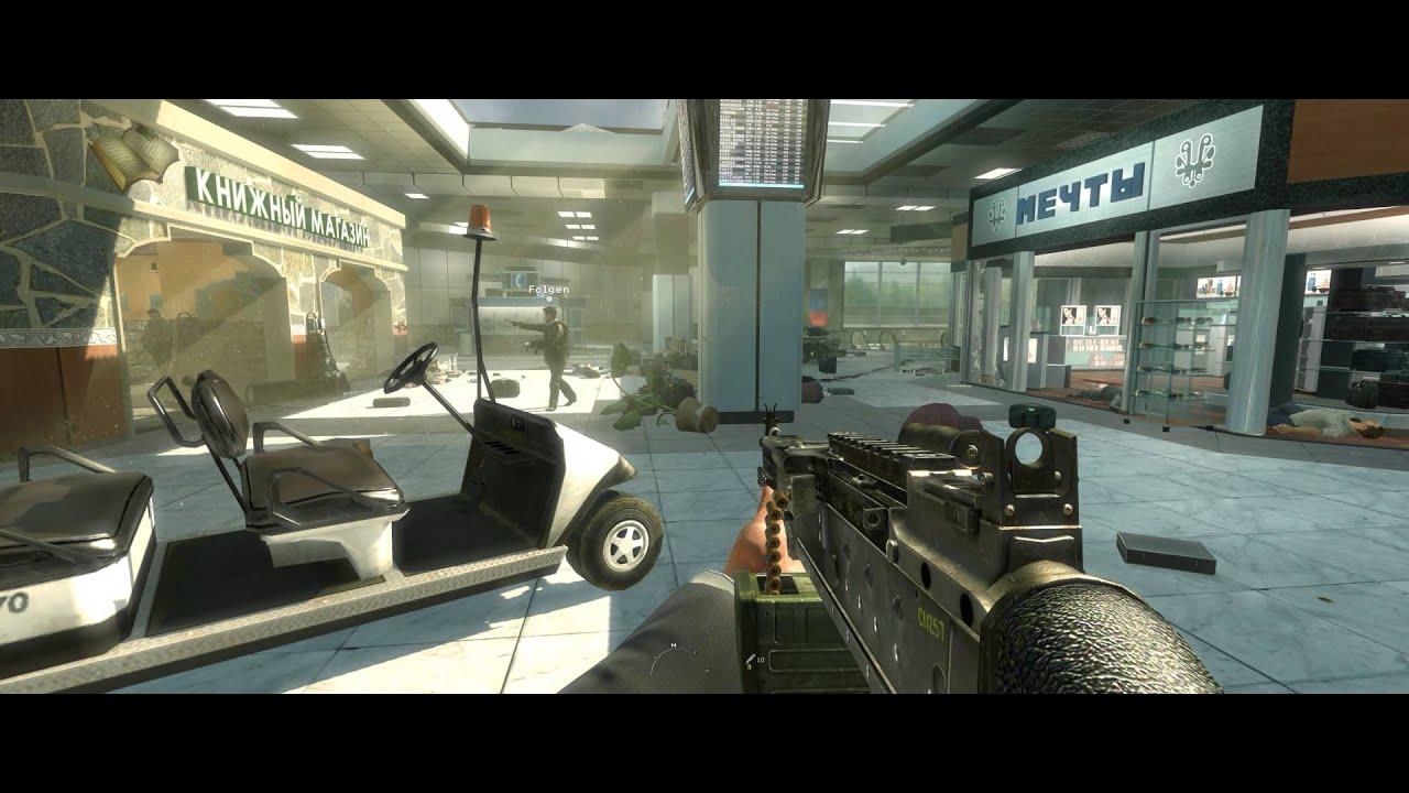 Call Of Duty Modern Warfare 2 In 21 9 Ultrawide 4k Youtube