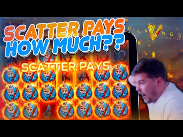 RECORD WIN ON VIKINGS!! Big Online Slots Bonus!