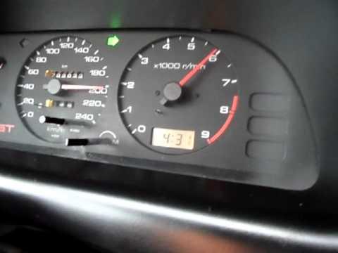 Nissan Primera p10 GT 0- 220 km/h SR20DE