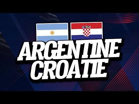🔴 DIRECT / LIVE : ARGENTINE - CROATIE // Club House