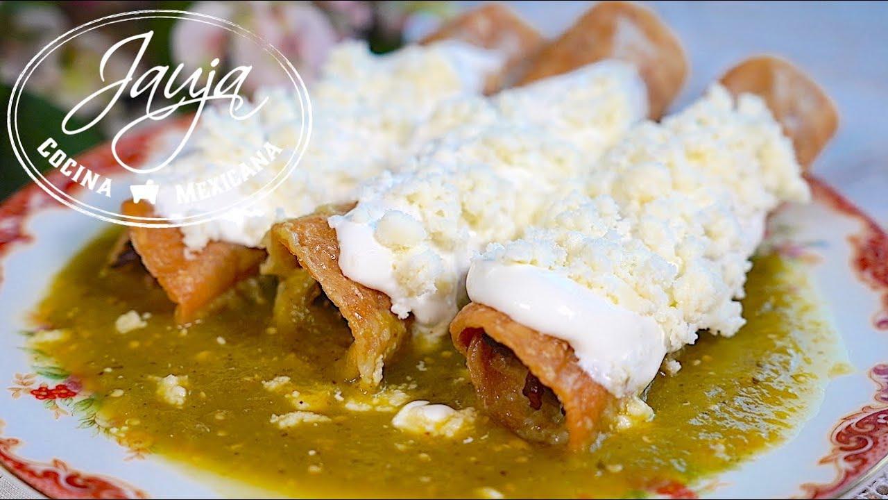 Los Tacos Dorados Que Más Nos Gustan En Casa