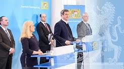 Video in Gebärdensprache: Pressekonferenz zur Corona-Pandemie (24.03.2020) - Bayern