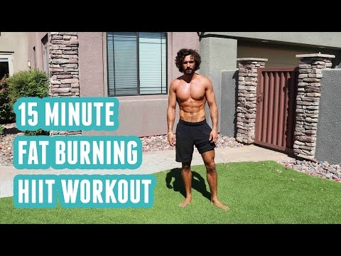 A Quick Fat Burning HIIT Workout [15 Minute] | Full-body Workout No Equipment