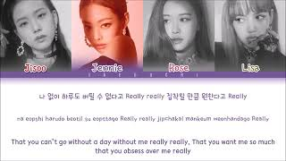 "Blackpink ""Realy"" Lyrics"