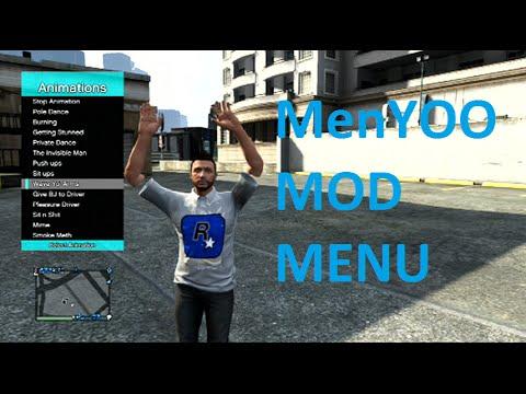 Gta V Menyoo Mod Menu 1 26 Tu26 Download Youtube