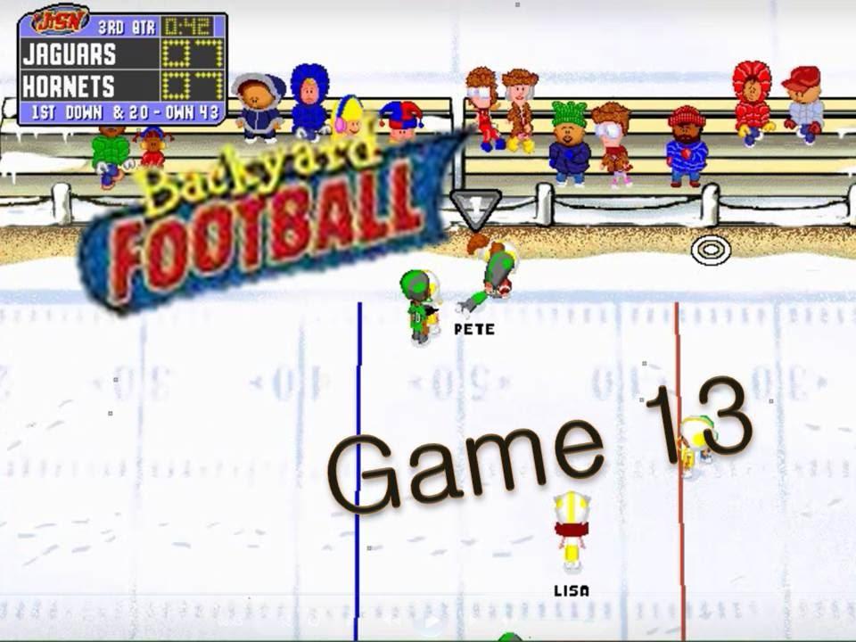 backyard football 1999 pc game 13 nuttin 39 but noobs youtube