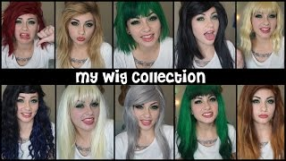 My Wig Collection!   HeyThereImShannon