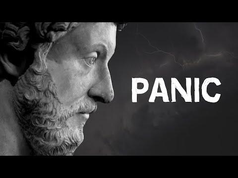 """Let Them Scream Whatever They Want""   Marcus Aurelius On Panic"