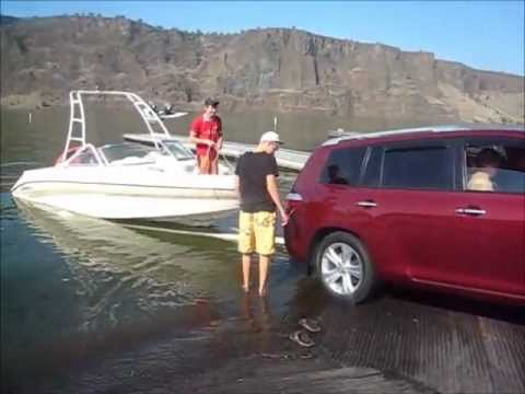Toyota Highlander Boat Launch
