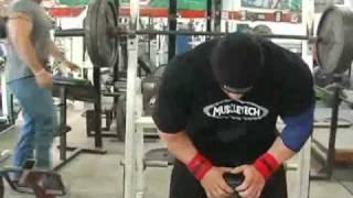 Branch Warren: Feb 18 - Chest workout (part1)
