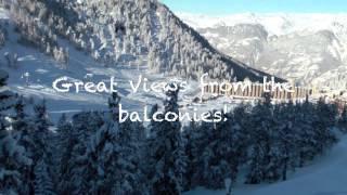 Catered Ski Chalets French Alps. Paradiski. La Plagne - Les Arcs High Altitude ski in ski out