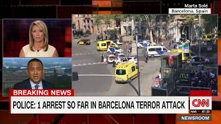 Barcelona attack update  1 arrest, police say no hostage situation