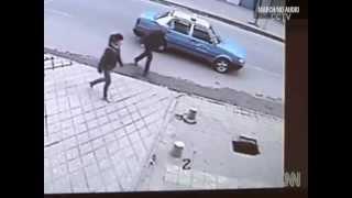 Teen in China Falls Through Sidewalk Sinkhole