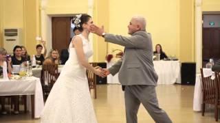 танец папы и дочки на свадьбе
