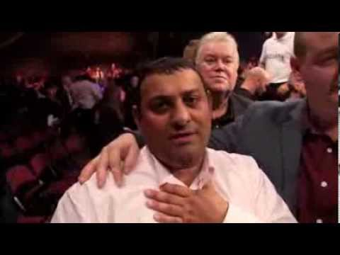 PRINCE NASEEM HAMED REACTS TO CARL FROCH v GEORGE GROVES / POST FIGHT INTERVIEW