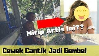 BUKAN PRANK..! CEWEK CANTIK JADI GEMBEL (ORANG GILA) || SAMBEL KEMANGI #BATAM