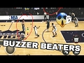 Top 10 Crazy Buzzer Beaters in NBA LIVE MOBILE! #2
