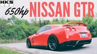 Daily Driven 650HP - Nissan GTR Review - HKS BOV [R35]
