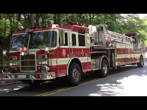 Over 100 Different Fire Trucks Responding Compilation Part 25
