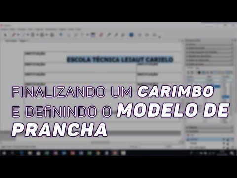 04 - Curso de Layout no Sketchup - Finalizando um Carimbo e Definindo o Modelo de Prancha