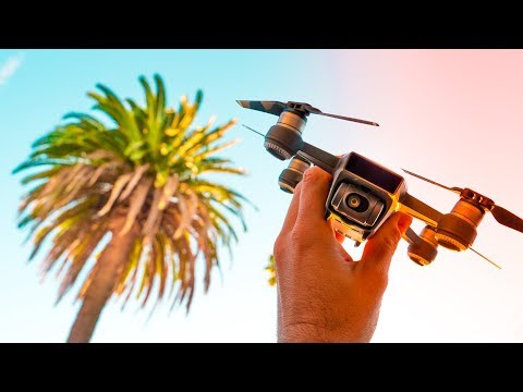 10 Tips For CINEMATIC DRONE FOOTAGE With The DJI SPARK