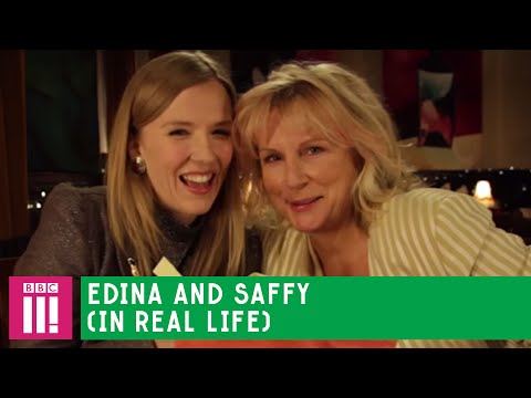Edina and Saffy IRL (feat. Jennifer Saunders and Beattie Edmondson)