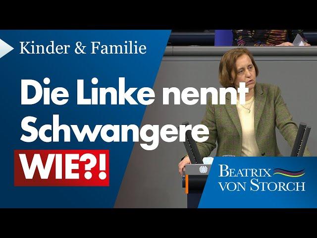 Beatrix von Storch (AfD) - Die Linke und ihr kaputtes Menschenbild - 04.03.2021
