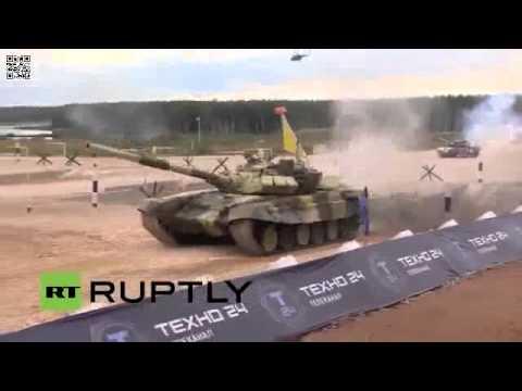 Đua Xe Tăng Quốc Tế Tại Nga 2015 - Clip 2