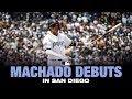 Manny Machado makes his Padres debut