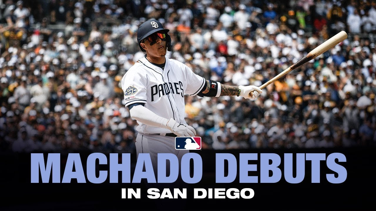 Manny Machado makes his Padres debut