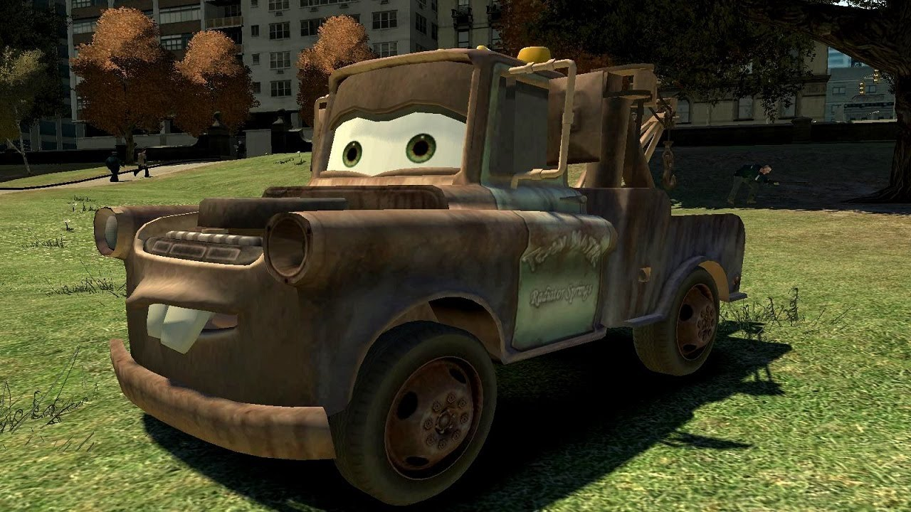 Grand Theft Auto IV - Cars Mater (MOD) HD - YouTube