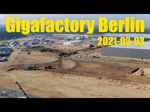 Giga Berlin | 2021-03-03 | Timelapse