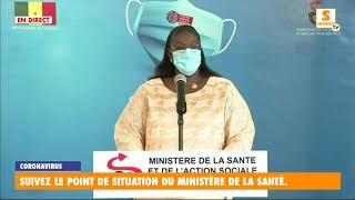"""""""Covid-19"""" – Point-situation : 94 cas positifs, 3 cas communautaires, 18 cas graves au Sénégal"""