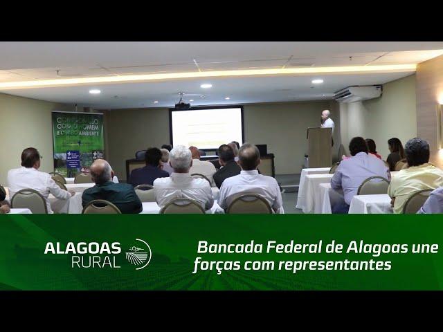 Bancada Federal de Alagoas une forças com representantes do setor sucroenergético