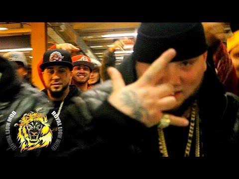 ROYAL LION MOB/WHITE LION- NEVER FOLD ft. King Problem and Redline (Official Video)