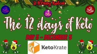 12 Days of Keto livestream with 2kk | Day 5 | Keto Krate