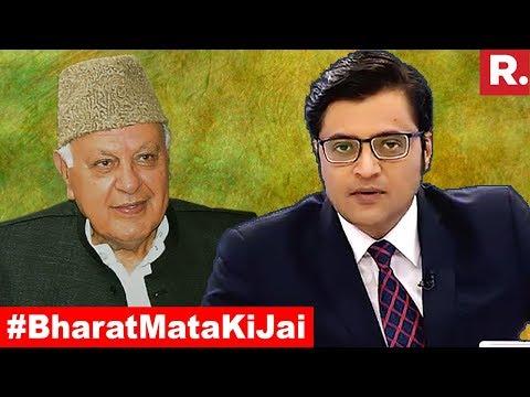 What's Wrong With Chanting 'Bharat Mata Ki Jai'? | The Debate With Arnab Goswami
