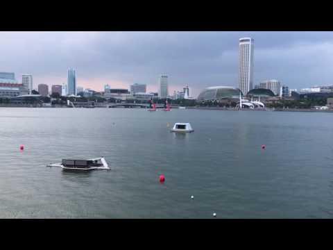 marina bay waterfront singapore 2017