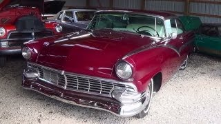 1956 Ford Victoria 312 Y block V8 -  Country Classic Cars