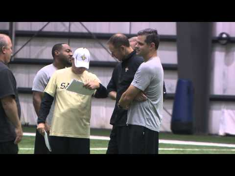 Saints Training Camp Minute 8/23/12