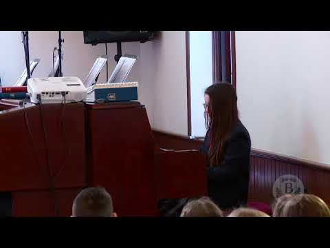 """""""How Great Thou Art"""" Piano Solo - Belmont Classical Academy Devotionals"""
